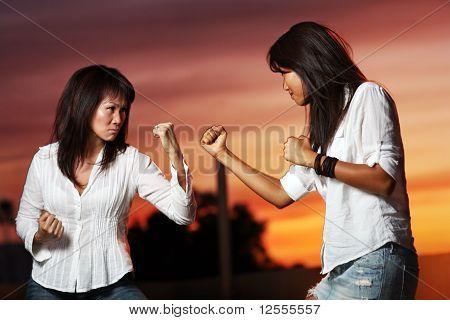 To Asian Women Fighting