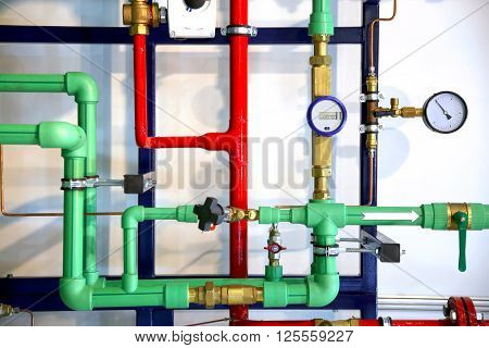 Pipes And Heating System Demo