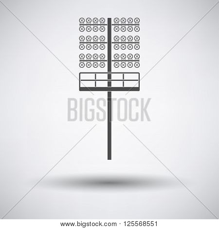 Soccer Light Mast  Icon