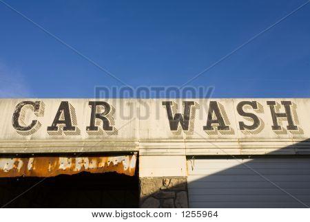 Abandoned Car Wash, Raymond, Washington