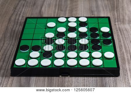 An Othello is the board game which can be enjoyed casually. ** Note: Soft Focus at 100%, best at smaller sizes