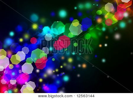 Beautiful Abstract Colorful Background