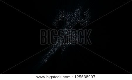 Silhouette Of A Human, Hyperspace Jump