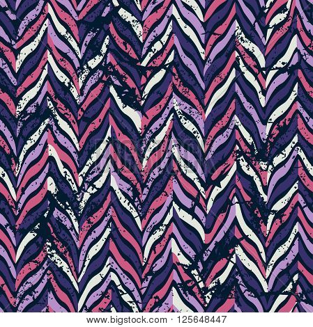 Seamless parquet pattern. Vector illustration. Pink, violet.