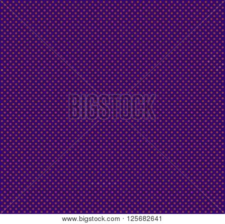 Seamless Vector Pattern Or Texture With Colorful Polka Dots On A Colored Background.