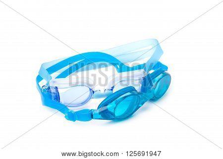 Cyan Swimming Goggles