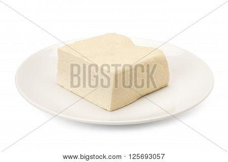 White Bean Curd Or Tofu