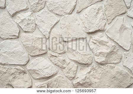 White stone modern wall background texture close up