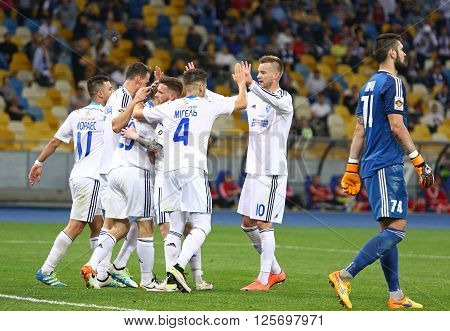 Ukrainian Premier League Football Game Fc Dynamo Kyiv Vs Volyn Lutsk