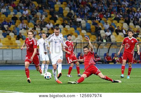 Ukrainian Premier League Football Game Fc Dynamo Kyiv Vs Volyn Lutsk