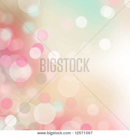 Beautiful Bokeh poster