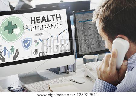 Health Insurance Assurance Medical Risk Safety Concept