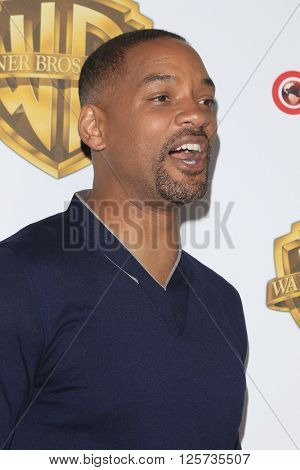 LAS VEGAS - APR 12: Will Smith at the Warner Bros. Pictures Presentation during CinemaCon at Caesars Palace on April 12, 2016 in Las Vegas, Nevada