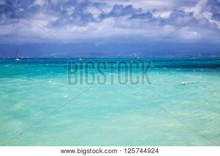 Caribbean beach - Guadeloupe, Lesser Antilles:
