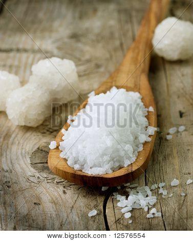 Healthy Sea Salt closeup