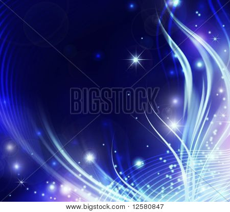 Beautiful Abstract Shiny Background