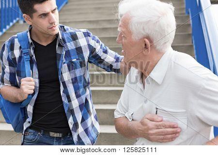 Young Caring Man