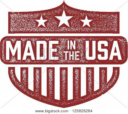 Made in the USA Product Label