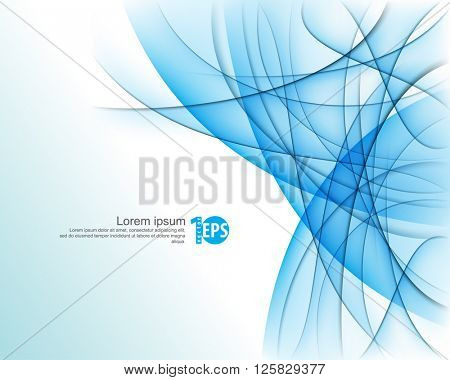 transparency effect lines and waves elements corporate material design. eps10 vector