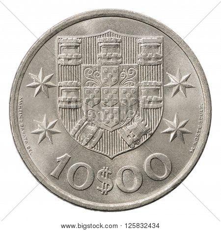 10 Portuguese Escudo