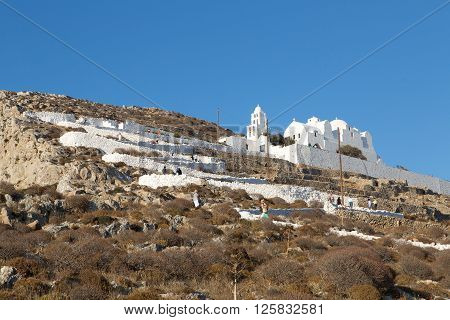 Folegandros Chora Church