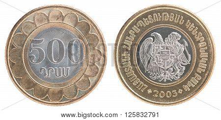 Armenian Dram Coins Set