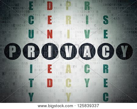 Privacy concept: Privacy in Crossword Puzzle
