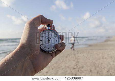 Chronometer And Sea