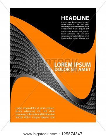 modern brochure design vector illustration. vector business