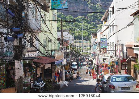 Favela In Brazi