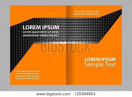 Brochure design. Business brochure Flyer vector Template