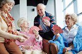 Seniors at leisure poster