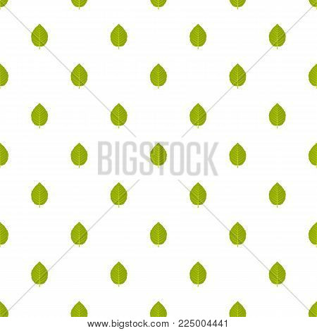 Hazel leaf pattern seamless in flat style for any design