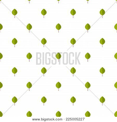 Apricot leaf pattern seamless in flat style for any design