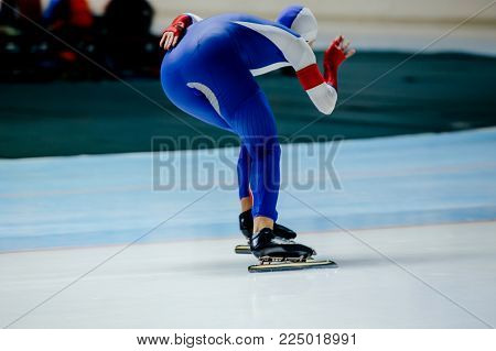 motion turn ice arena man athlete skater