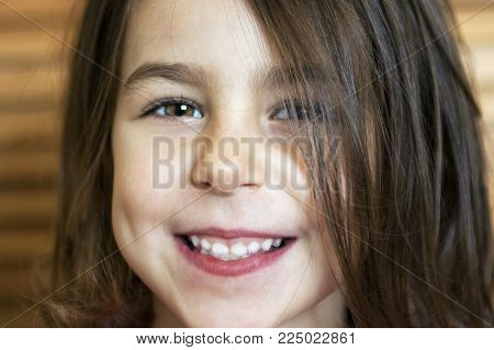 Beautiful Little Girl With A Dazzling Smile