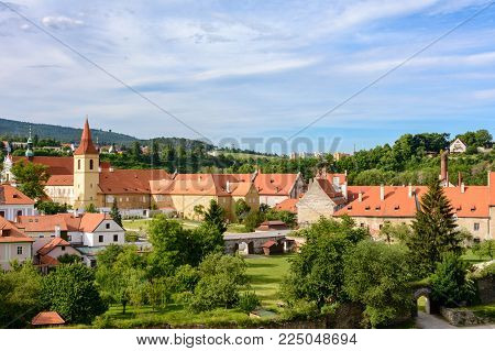 Cesky Krumlov - Czech Krumlov, city of South Bohemia. Czech Republic