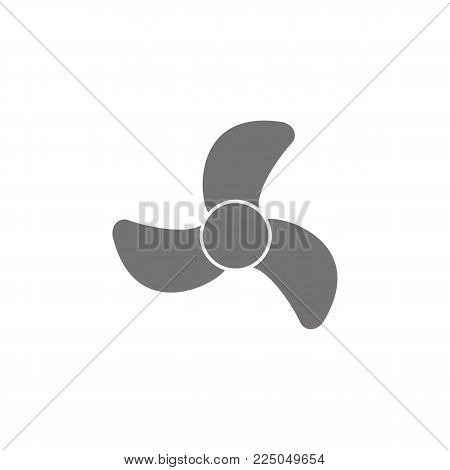 Air conditioning vector icon on white background