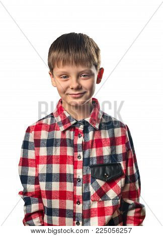 Laughing Boy In Shirt