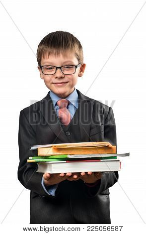 Portrait Of Schoolboy