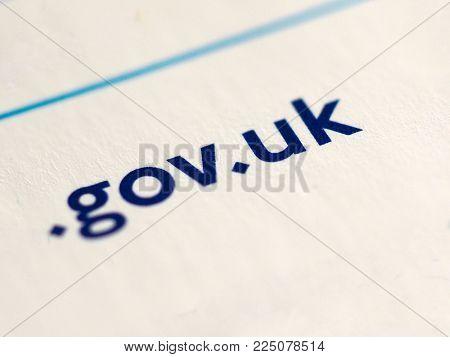 Gov Uk Internet Address Domain For Government Sites Url