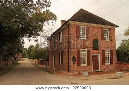 Yorktown, Va- October 7: The Historic Yorktown Custom House Now Serves As A Museum Operated By The D
