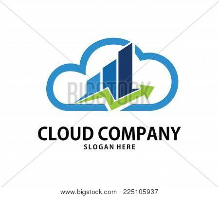 Vector Consulting Finance Management Cloud Online Cloud Storage Logo Design