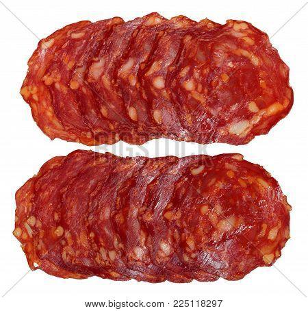 Slices Of Chorizo Sausage