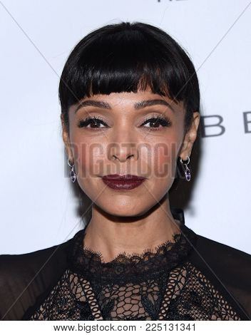 LOS ANGELES - JAN 20:  Tamara Taylor arrives for the EW Magazine honors SAG Nominees on January 20, 2018 in West Hollywood, CA