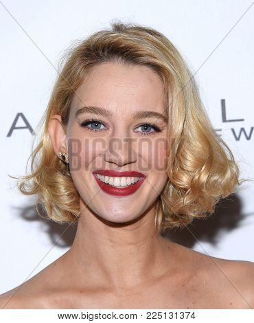 LOS ANGELES - JAN 20:  Yael Grobglas arrives for the EW Magazine honors SAG Nominees on January 20, 2018 in West Hollywood, CA