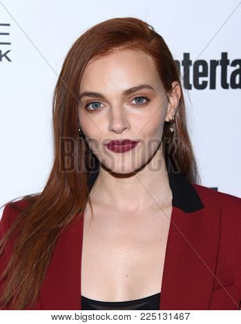 LOS ANGELES - JAN 20:  Madeline Brewer arrives for the EW Magazine honors SAG Nominees on January 20, 2018 in West Hollywood, CA