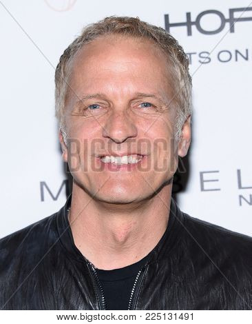 LOS ANGELES - JAN 20:  Patrick Fabian arrives for the EW Magazine honors SAG Nominees on January 20, 2018 in West Hollywood, CA