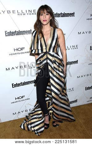 LOS ANGELES - JAN 20:  Jackie Tohn arrives for the EW Magazine honors SAG Nominees on January 20, 2018 in West Hollywood, CA