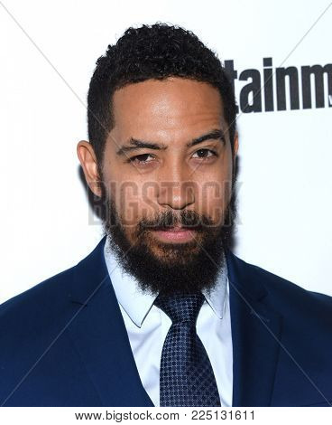 LOS ANGELES - JAN 20:  Neil Brown Jr. arrives for the EW Magazine honors SAG Nominees on January 20, 2018 in West Hollywood, CA